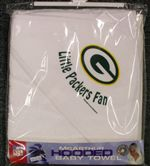 Green Bay Packers Baby Hooded Towel