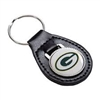 Green Bay Packers Leather Key Ring