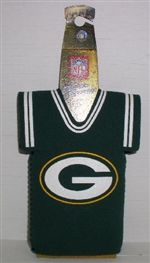 Green Bay Packers Jersey Bottle Cozy