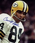 Carroll Dale Autograph 8x10 Photo