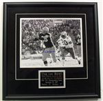 Boyd Dowler Autograph 11x14 Photo Framed