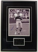 Willie Wood Autograph 11x14 Photo Framed
