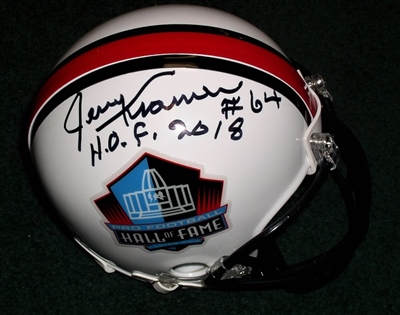 Jerry Kramer Autograph Hall of Fame Mini Helmet