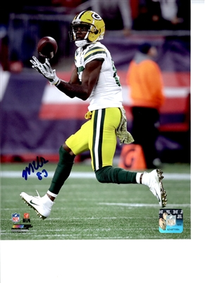 Marquez Valdes-Scantling  Autograph 8x10 Photo