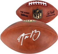 Aaron Rodgers Green Bay Packers Autographed Duke Pro Football