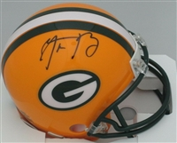 Aaron Rodgers Green Bay Packers Autographed Riddell Mini Helmet