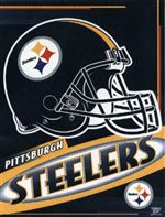 Pittsburgh Steelers Vertical Flag