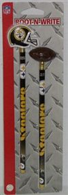 Pittsburgh Steelers Pencil And Eraser Set
