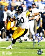 Pittsburgh Steelers Larry Foote Autograph 8x10 Photo