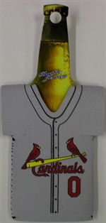 St. Louis Cardinals Jersey Bottle Cozy