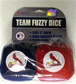 St. Louis Cardinals Fuzzy Dice