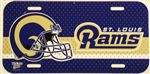 St. Louis Rams License Plate Frame - Plastic