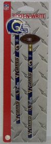 St. Louis Rams Pencil And Eraser Set
