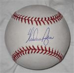 Nolan Ryan Autograph Official Major League Baseball
