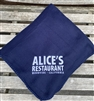 Alice's Fleece Throw Blanket -  Navy Blue
