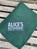 Alice's Fleece Throw Blanket - Hunter Green