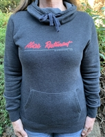 Ladies Dark Gray Pullover Sweatshirt