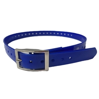 Rubber Buckle Strap for Collar Unit | Blue