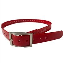 Rubber Buckle Strap for Collar Unit | Red