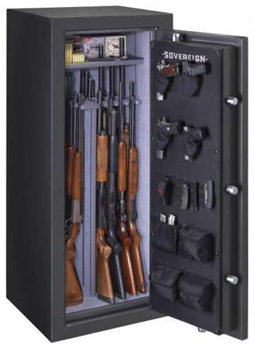Sovereign 22 Guns Safe w/ Door Storage (Electronic Lock)