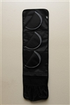 "3 Handguns Gun Safe Door Panel Organizer (9.5"" wide)"