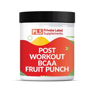 POST WORKOUT BCAA - FRUIT PUNCH