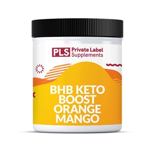 BHB KETO BOOST POWDER - ORANGE MANGO-15g PER SERV, 16 SERV PER UNIT