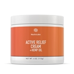 ACTIVE RELIEF CREAM WITH BROAD SPEC - 4 OZ