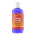 WATERLESS HAND WASH, ELDERBERRY - 8OZ, LIQ