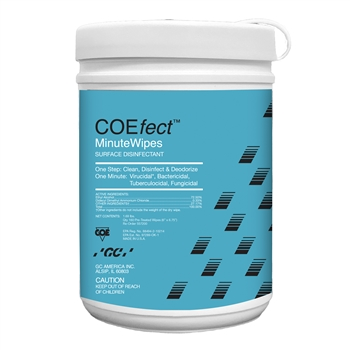 COEfect DISINFECTANT WIPES 160 Count