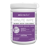 MICRODOT DISINFECTANT WIPES 160 Count