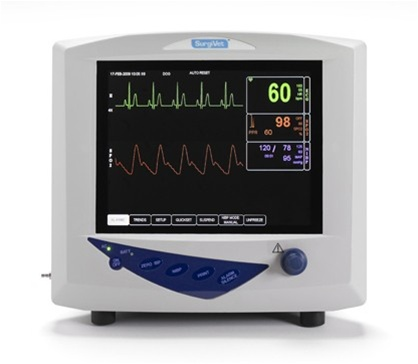 Smith S Surgivet 3 Parameter Advisor Vital Signs Monitor
