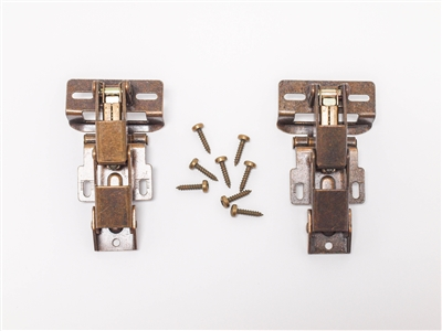monaco rv holiday rambler fleetwood rv beaver safari REV group antique brass hinges and cabinet hardware