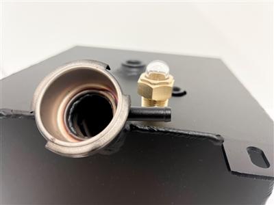 motorhome radiator steel overflow surge tank used on. Black Bedroom Furniture Sets. Home Design Ideas
