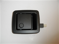 monaco rv holiday rambler rv non-locking black plastic RV baggage door latch 08407350 11959-37 10107302