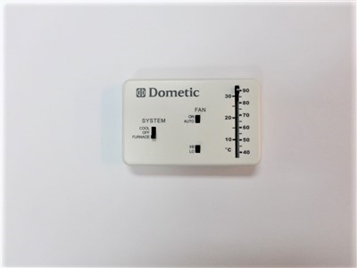 Thermostat In Polar White Used For Motorhome Trailer Or 5th Wheel. Larger Photo. Wiring. Monaco Coach Alladin Wiring Diagrams At Scoala.co