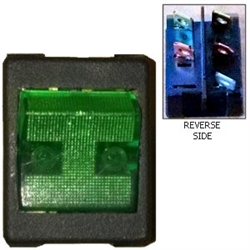 monaco rv holiday rambler fleetwood rv beaver safari water pump momentary switch green S16614110