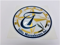 Decal Round T for all 2000-2002 Units Blue and Gold