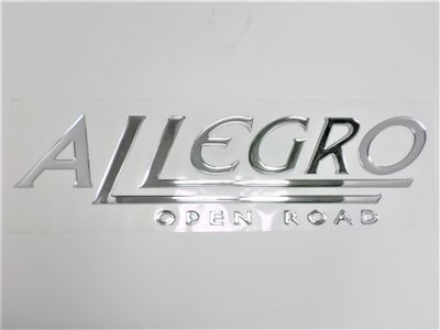 Decal Allegro Open Road Chrome Foam (Allegro/Red 2012-2017)