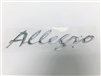 Decal Allegro Chrome