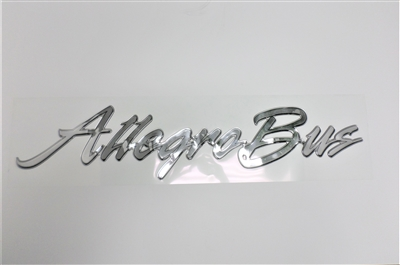 Decal Allegro Bus 2004-2007 Chrome