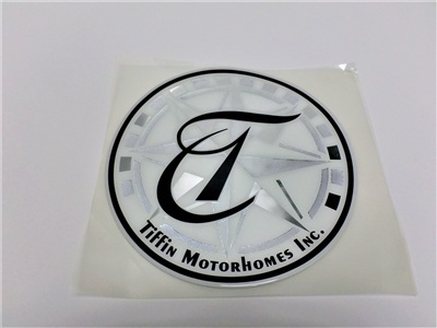 tiffin logo decal