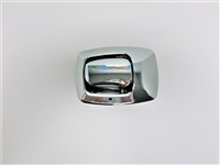 tiffin compartment door lock non locking chrome exterior