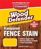 Transparent Fence Stains- 1 Gallon