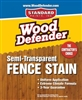 Semi-Transparent Fence Stains- 1 Gallon