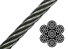 Galvanized Aircraft Cable 250' Roll