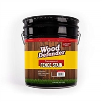 Transparent Fence Stains- 5 Gallon