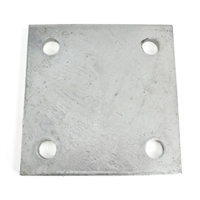 Galvanized Base Plate