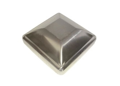 Square Pressed Steel Caps