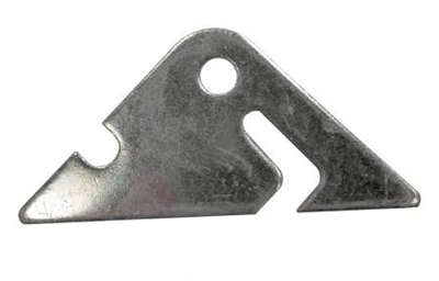 Plated Chain Latch Tab